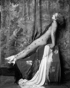 Drucilla Strain Showgirl Vintage 8x10 Reprint Of Old Photo 2   eBay