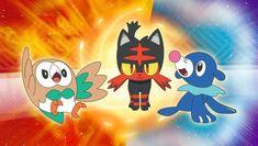 Iniciales pokemon sol y luna