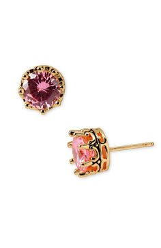 Juicy Couture 'Princess' Cubic Zirconia Studs available at #Nordstrom
