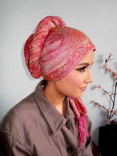 lovely pashmina turban