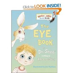The Eye Book (Bright & Early Board Books(TM)): Theo. LeSieg, Joe Mathieu: 9780375812408: Amazon.com: Books