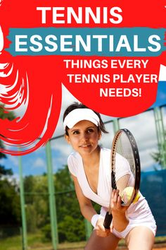 What tennis equipment and gear are needed to get started playing tennis? This tennis gear guide will let you know what tennis essentials you will need to buy in order to play in a tennis league or take tannis lessons. Tennis Equipment, Tennis Gear, Tennis Clothes, Play Tennis, Tennis Players, Tennis Racket, Get Started, Essentials, How To Get
