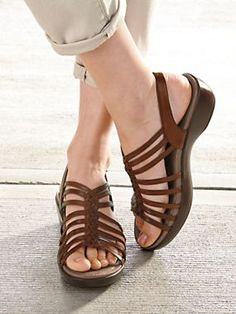 13bd1a2f3ca Dansko Dana Sandals - Comfortable strappy leather sandals. Strappy leather  sandals with Dansko s famous support