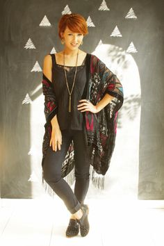 Look do dia: kimono e sapato oxford - Blog De repente Tamy Blog De repente Tamy