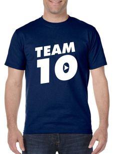 Men's T Shirt Team 10 Cool Trendy Tshirt   #tshirt #youtube #trendy #fashion #menswear