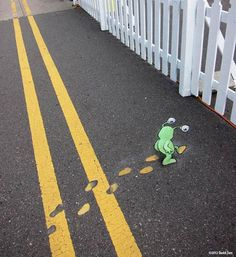 Beyond Banksy Project / David Zinn