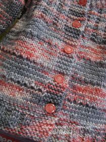 Magia do Crochet Baby Knitting Patterns, Coat Patterns, Baby Patterns, Diy Crafts Knitting, Easy Knitting, Magia Do Crochet, Easy Knit Baby Blanket, Quick Knits, Crochet Cardigan