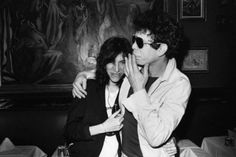 Patti Smith and Lou Reed. http://www.dazeddigital.com/music/article/14076/1/get-your-rocks-off-with-primal-scream
