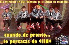 Memes en espanol bts 41 new ideas Memes Bts Español, Vkook Memes, Funny Memes, Memes Chinos, Bts Gifs, Army Memes, Nam Woo Hyun, Friend Memes, Bts And Exo