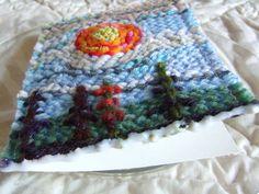 DIY: A Yarn Painted Greeting Card