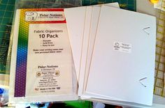Polar Notions 10 packs LIFE UNDER QUILTS  Quilting on the GO