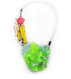bubble gum necklace _ nikki Coupee
