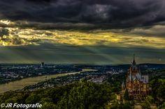 Rain Approaches Schloss Drachenburg. by jrfotografie on 500px