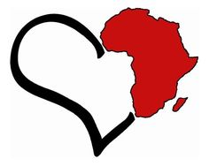 tatoo ideas home: where my heart is. Art Black Love, Black Girl Art, My Black Is Beautiful, Art Girl, Afrika Tattoos, Africa Outline, African Symbols, Afrique Art, Desenho Tattoo