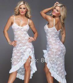 Plus Size Sexy Lingerie Nightgown Nightdress Sleepwear
