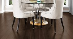 The Admiration Collection, trendy colors for a unique ambiance. Rich wood combined with the color of creativity.