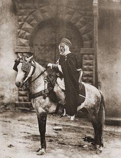 Officier indigène de Spahis (Algerie), c1910    Photographer: E. Leroux, Alger