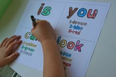 Some seriously amazing lesson plans and ideas for sight words, word families, and other literacy skills!