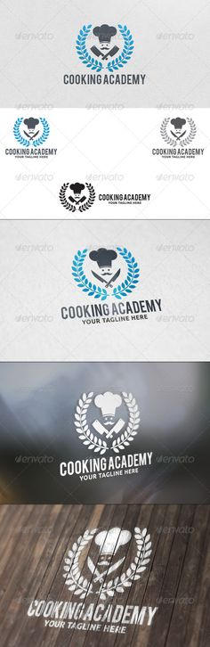 Cooking Academy - Logo Template