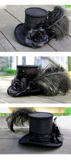 New Black Tophat by ImperialFiddlesticks