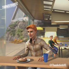 Official Thunderbirds Are Go - John is the only one who can rescue the crew of. Thunderbirds Are Go, Weird And Wonderful, The Hobbit, Cute Art, I Movie, Tv Series, Fandoms, Marvel, Bagels