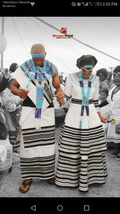 Traditional African Clothing, Traditional Dresses, Xhosa Attire, African Dresses For Women, Traditional Wedding, African Fashion, Leather Sandals, Brides, Culture