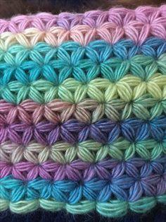Crochet Jasmine Star Stitch