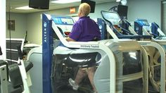 The AlterG - a treadmill that helps with joint and knee problems, and people who are overweight.  Found at some medical centers and places around the US.  Interesting idea.