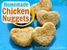 Healthy Homemade Chicken Nuggets - Kid-Friendly!