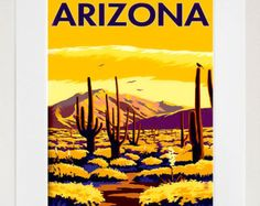 Image result for Arizona travel posters