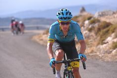 Miguel Angel Lopez attacked the GC favourites on the final climb of the Vuelta a España's 14th stage coming over the line in second place