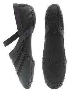 Capezio FF01 Black Freeform. Foot Thongs, Lyrical & Contemporary Shoes. Unique styling allows this shoe to be worn for Ballet, Jazz, Modern and Contemporary Dance. Material: Leather with Nylon Spandex Upper. Price from £23.95 at www.dancinginthestreet.com