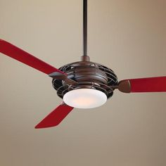 "52"" Minka Aire Acero Bronze Finish Ceiling Fan -"