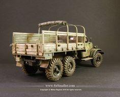 Model of Zil 157 in scale by Maher Ragheb Best Scale, Military Modelling, Military Diorama, Scale Models, Military Vehicles, Monster Trucks, Studio, Instagram, Model Building