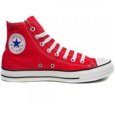 best service 7265e 33211 Converse All Star Hi, baskets montantes rouges toujours à la pointe de la  mode à prix réduit chez Allez Discount