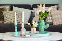 interior | herbst makeover zuhause - kaktusvase | luziapimpinella.com