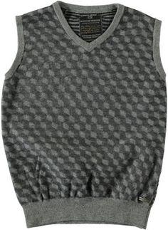 Scotch Shrunk / Gebreide trui of vest www.vintykids.com