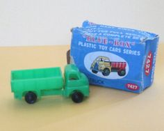 Dump Truck Blue-Box Series 7424 Vintage Toy