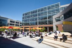 south lake union building  | Seattle, South Lake Union, Amazon campus, new technology and science ...
