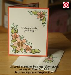 Card created using the Love & Affection Stamp Set from Stampin' Up! http://tracyelsom.stampinup.net