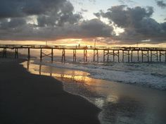 Atlantic City Beach, NC..one of the things I miss about being away from base..this place is a few minutes from the house...ah. I MISS YOU PRETTY BEACH!