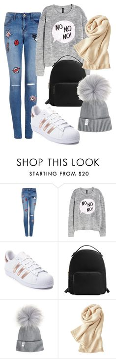 """Relax"" by lizz-med ❤ liked on Polyvore featuring H&M, adidas, MANGO and Uniqlo"