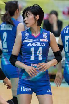 宮下遥選手 (backuper) Tags: volleyball vリーグ 岡山シーガルス 宮下遥