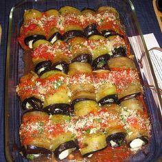 Eggplant Rolls - Involtini di Melanzane