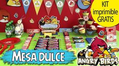 MESA DULCE DE ANGRY BIRDS!! En el vídeo de #hoynohaycole de hoy os enseño a hacer una mesa dulce de ANGRY BIRDS y os regalo un kit de imprimibles GRATIS para que lo hagáis. Hacía mucho tiempo que no montaba ninguna pero creo que me quedó muy chula  Espero que lo descarguéis y vuestra próxima fiesta sea temática Angry Birds  Podéis ver YA el vídeo en nuestro canal de #YouTube #hoynohaycole  #angrybirds #funda #ipad #manualidadeshoynohaycole #fundascaseras #DIY #craft #inspiration #haken…