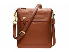 COACH Legacy Leather Swingpack Brass/Cognac - Zappos.com Free Shipping BOTH Ways - best selling style on zappos - 1/20/14