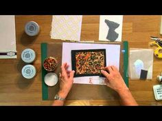 ▶ How to use Creative Expressions Gilding Flakes - YouTube