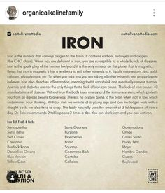 iron shortage treatments all-natural, what are the reasons as well as signs and symptoms and the most effective as well as reliable methods to treat iron deficiency Health Facts, Health And Nutrition, Health Tips, Health And Wellness, Natural Medicine, Herbal Medicine, Dr Sebi Nutritional Guide, Dr Sebi Herbs, Dr Sebi Diet
