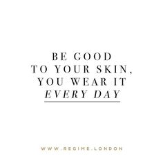 Be good to your skin you wear it everyday!  Our nourishing capsules will help you to take care of your skin without all of the fuss! _ Shop by clicking the link in the bio @regimelondon or go to www.Regime.London