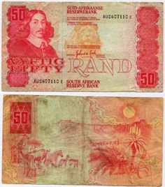 South African bank note